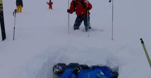 Freeride Safety Camp – Praxis
