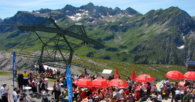 Fest am Berg