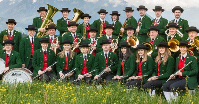 Sonntagskonzert des Musikvereins Übersaxen