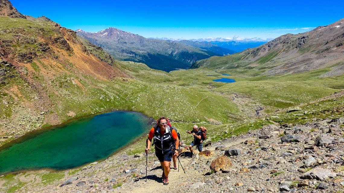 Trekking S&uumldtirol Alpen&uumlberquerung