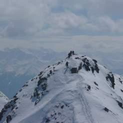 Gipfelgrat Piz Rasass