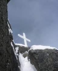 Gipfelkreuz Piz Sesvenna