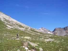 Aufstieg Richtung Fuorcla Sesvenna