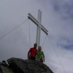 Gipfelbild Piz Sesvenna
