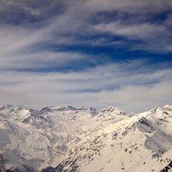 Stubaier Alpen mit Sonklar, Zuckerhütl, Wilder Pfaff und Wilder Freiger