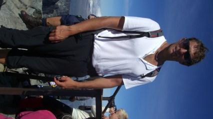skeptischer Blick am Gipfel?!