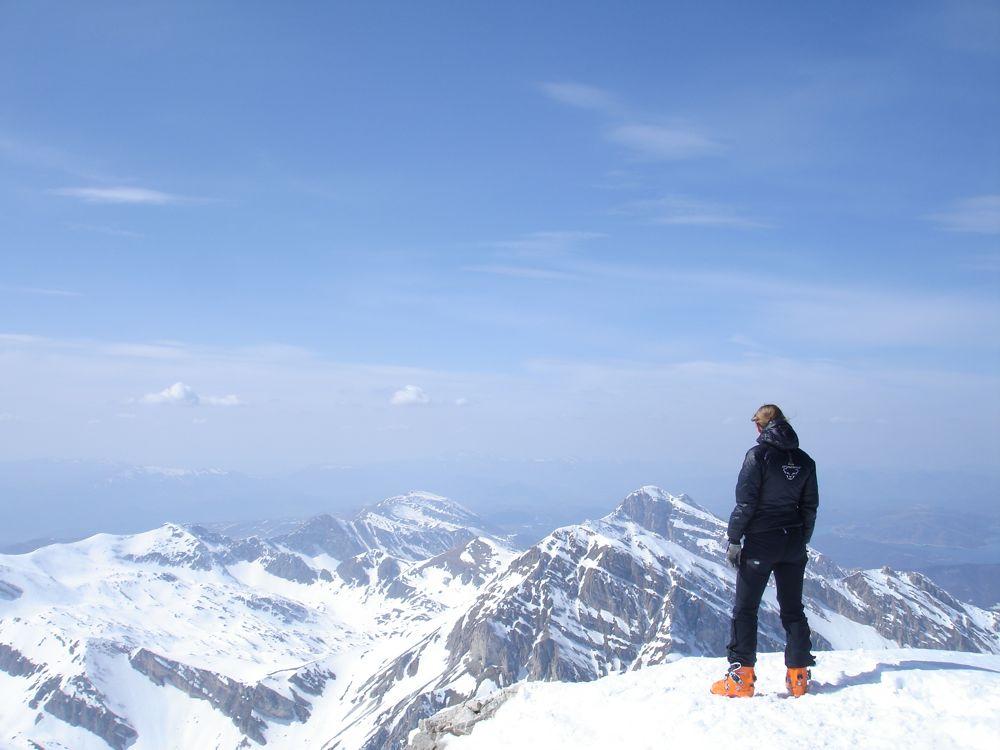 Skitouren in den Abruzzen - Gran Sasso Nationalpark