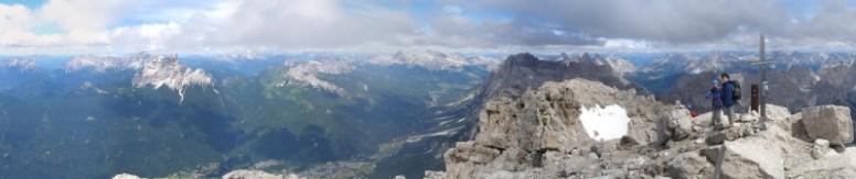 Gipfelpanorama Monte Antelao