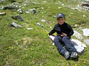 Kleine Rast für den großen Bergsteiger