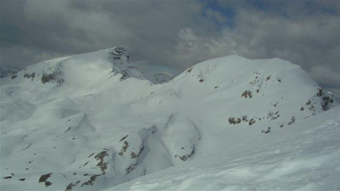 Seneser Karspitz 2659m, Col de Riciogogn 2650m