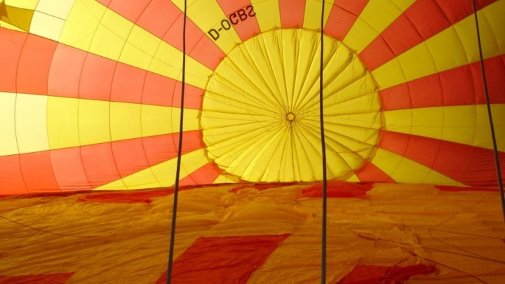 Ballonfahrt beim Dolomiti Ballonfestival