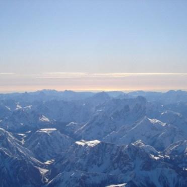 Ballonfahrt über den Dolomiten