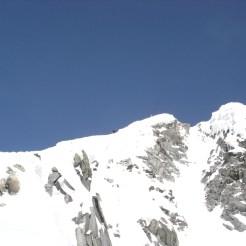Es ist nicht mehr weit zum Gipfel