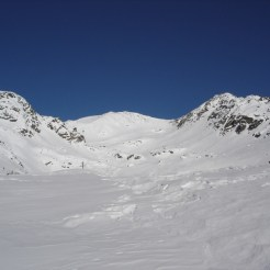 In Bildmitte die Flimspitze