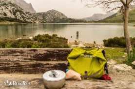 Minimalismus beim Wandern auf Mallorca Trockenmauerroute GR 221