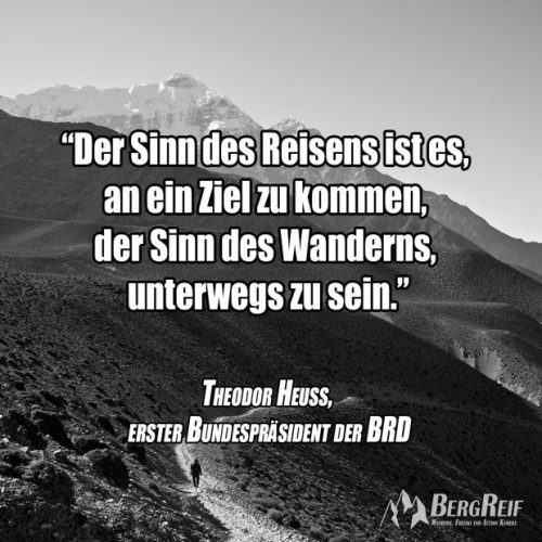 Zitate Berge Und Zitate Wandern Bergreif
