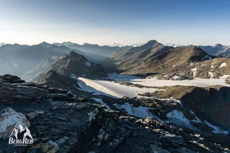 Bergfotos Schärfentiefe