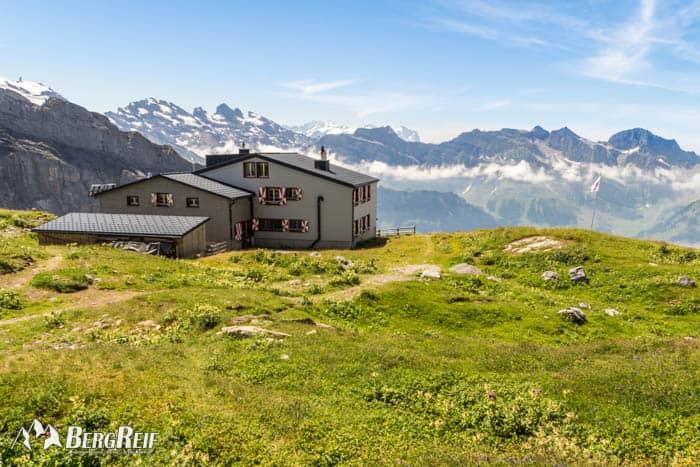 In Engelberg wandern zu Rugghubelhütte