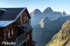 Stubaier Höhenweg Habicht Besteigung Innsbrucker Hütte