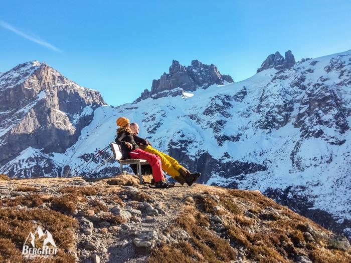 Schneeschuhtour Schneewandern Fürenalp Engelberg