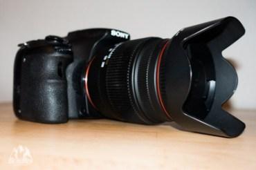 Systemkamera vs Spiegelreflex Sony A58