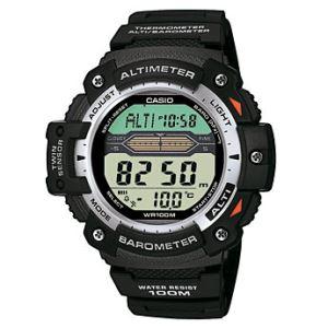Wetterkunde Luftdruck mit Uhr bestimmen