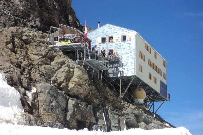 Alpenhütten Mönchsjochhütte