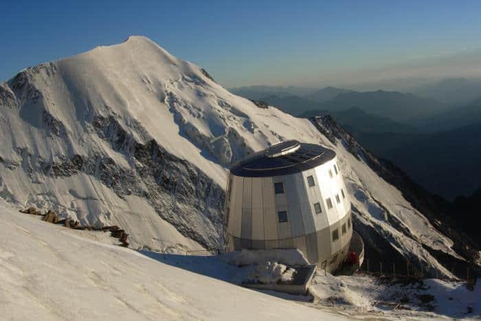 Alpenhütten Refuge de Gouter