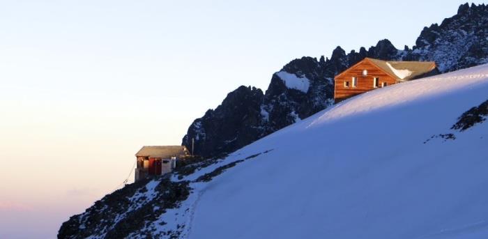 Alpenhütten Rifugio Marco e Rosa