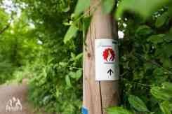 Naturpark Rheinland Feuerroute Logo
