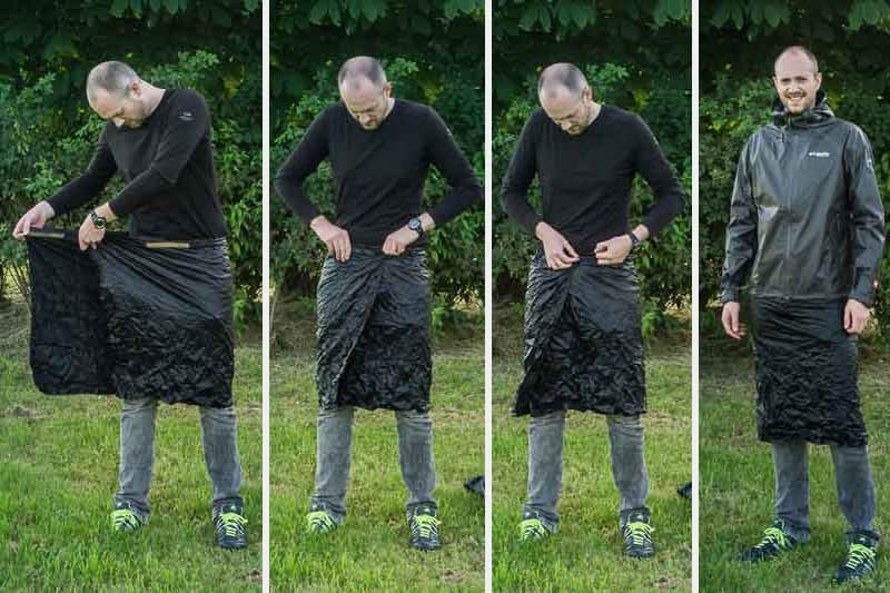 Regenkilt Selbst gemacht: DIY-Anleitung für ultraleicht Fans - BergReif