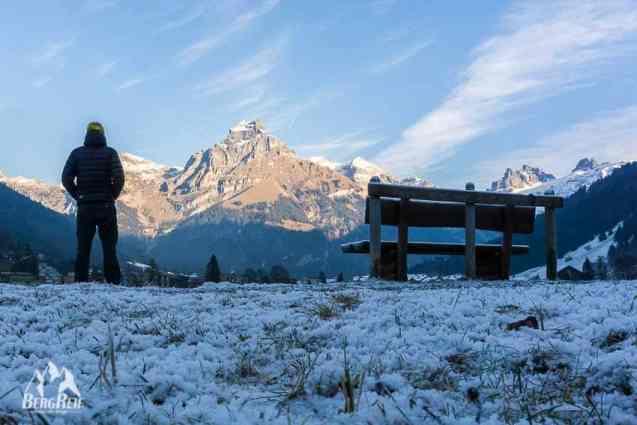 Packliste Winter Wandern Engelberg