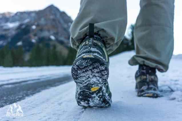Packliste Winter Wandern Zustiegsschuhe