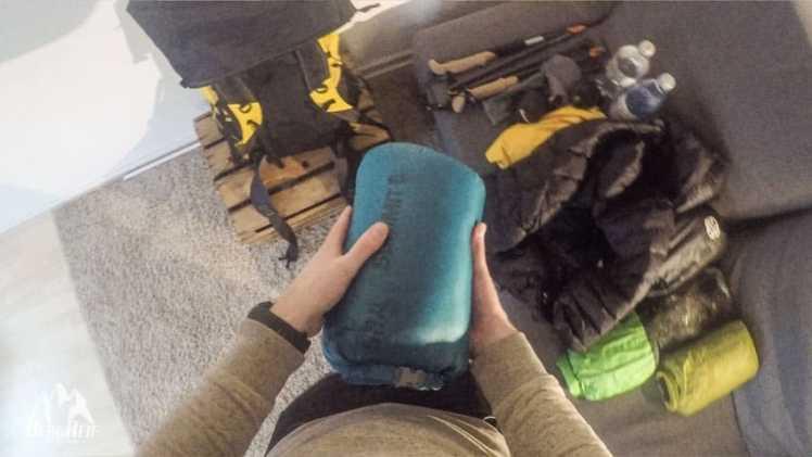 Ultraleicht Rucksack packen