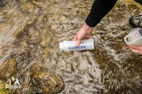 Katadyn MyBottle Test Outdoor Wasserfilter
