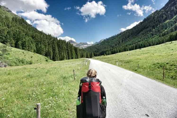 Salzsteigweg Alpenüberquerung zu Fuß