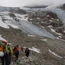 Aufstieg Richtung Gletscher