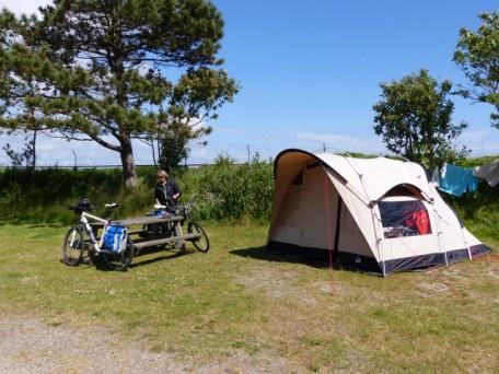 Campingplatz bei Glücksburg/Ostsee