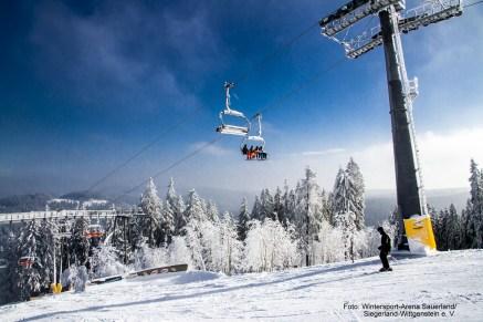am Slalomhang, Winterberg