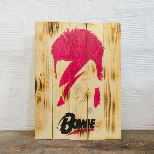 Bowie Wood Sign
