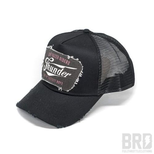 Cappellino Vintage Trucker Cap The Thunder Black