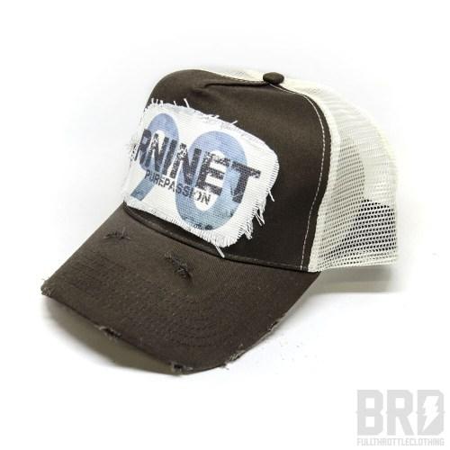 Cappellino Vintage Trucker Cap R NineT Marrone