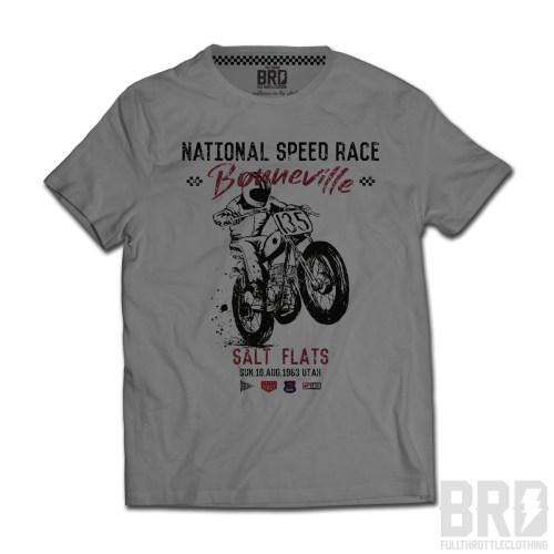 T-shirt National Speed Race Bonneville