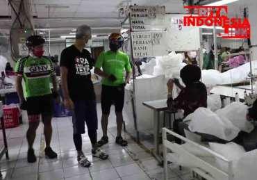 Ganjar Borong 10.000 Produk APD Dari Perusahaan Garment di semarang
