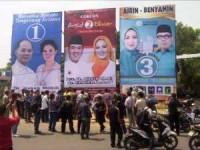 3 Pasangan Calon Walikota Tangerang Selatan(foto Doc KPU Tangsel)