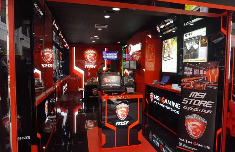 MSI Store yang terletak di Mangga Dua Mall (Kredit: DailySocial)