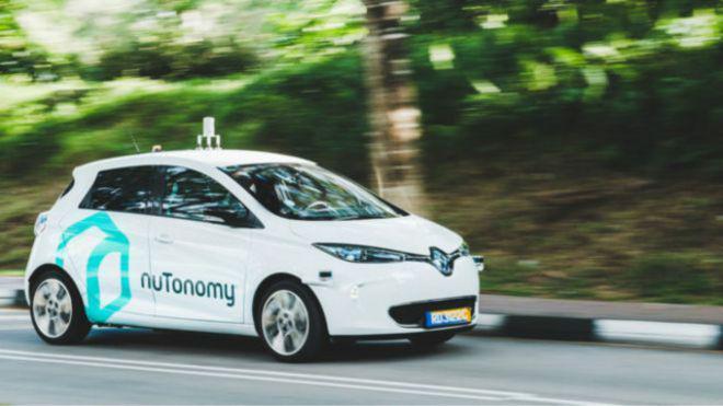 nuTonomy, taksi tanpa sopir pertama di dunia beroperasi di Singapura (Kredit: BBC Indonesia)