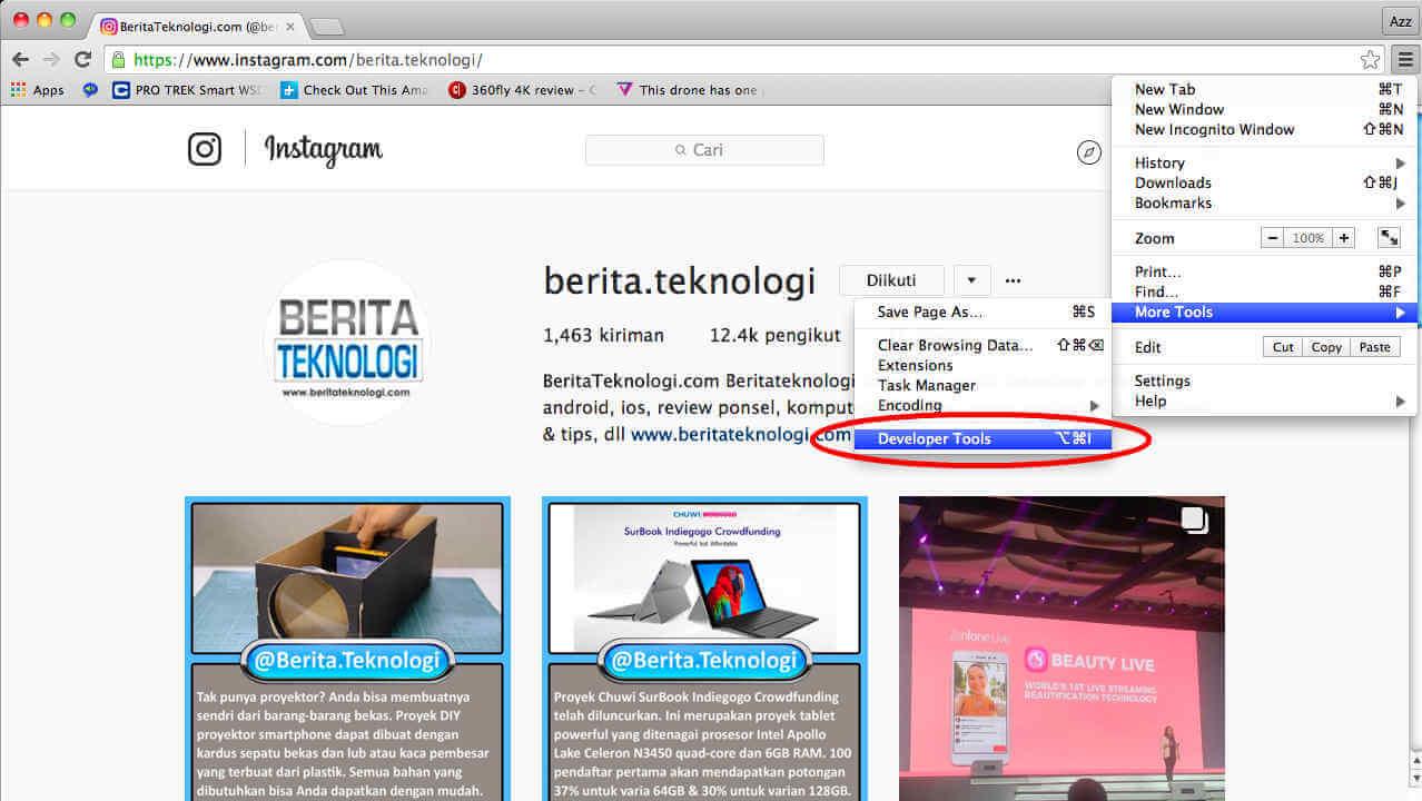 instagram-beritateknologi-developer-tool-cara-upload-instagram-dari-komputer
