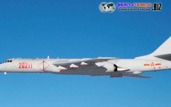 Pesawat Pengebom China Terbang Di Dekat Guam Sebagai Peringatan Kepada AS.