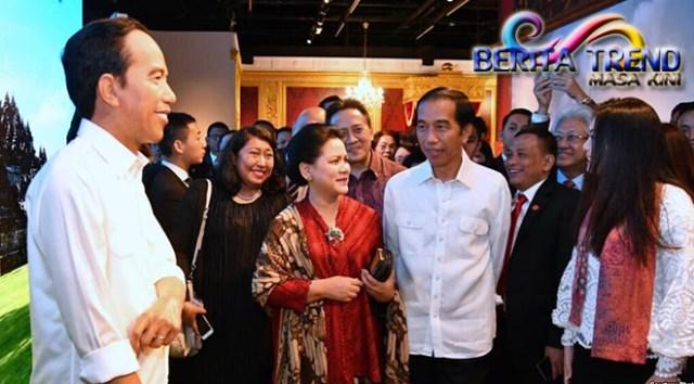 Patung Lilin Jokowi yang Berada di Madame Tussauds Hong Kong Akan Mengenakan Batik